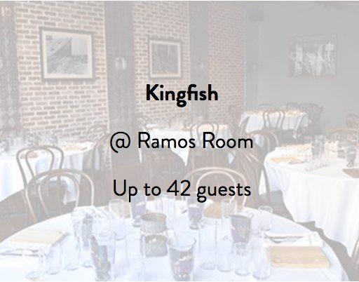 Kingfish Restaurant Ramos Room 2