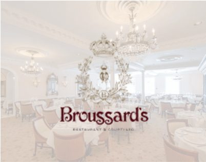 Dining Room Broussard's Restaurant New Orleans 2
