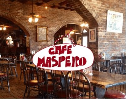Logo for Cafe Maspero