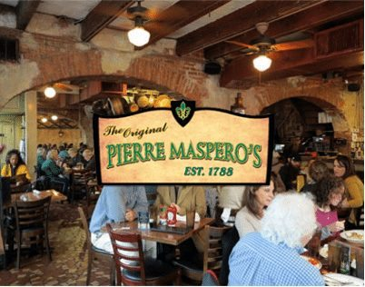 The Original Pierre Maspero's Restaurant logo 4