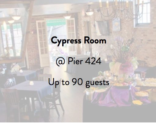 Pier 424 Cypress Room