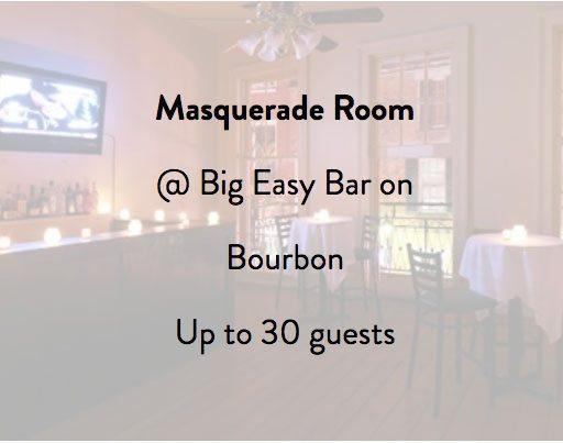 Big Easy Bar Masquerade Room