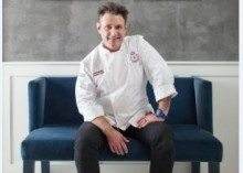 Chef Neal Swidler Best of Show at the New Orleans Food & Wine Experience in 2015