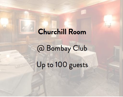 Bombay Club Churchill Room