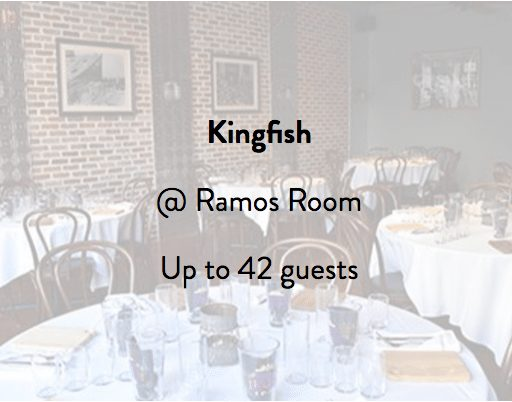 Kingfish Restaurant Ramos Room 2