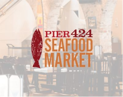 Logo for Pier 424 Seafood Market 1