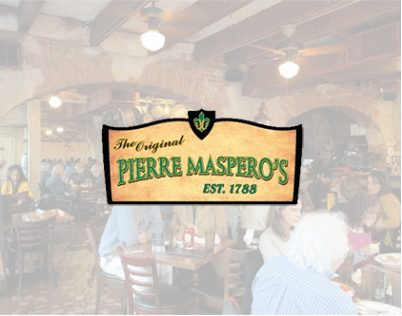 The Original Pierre Maspero's Restaurant logo 2