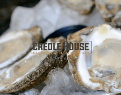 Logo for Creole House Restaurant and Oyster Bar