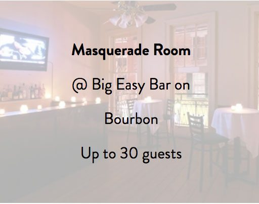 Big Easy Bar Masquerade Room