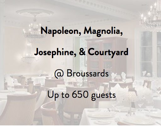Broussard's Restaurant Party Rooms 2