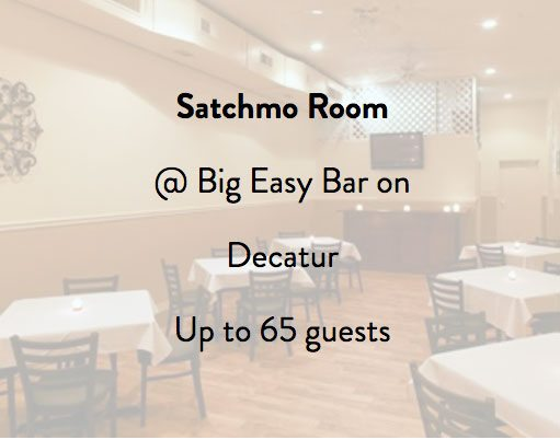 Big Easy Bar, Satchmo Room, Bourbon Street