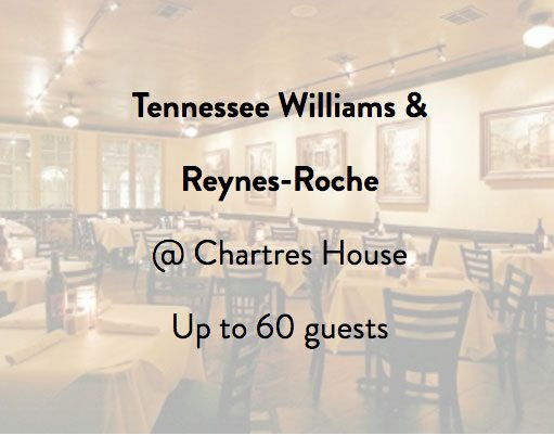 Chartres House Tennessee Williams Room