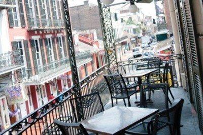 The Grand Absinthe Room balcony Le Bayou 3