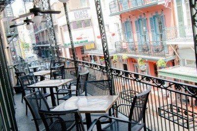 The Grand Absinthe Room balcony, Le Bayou 4