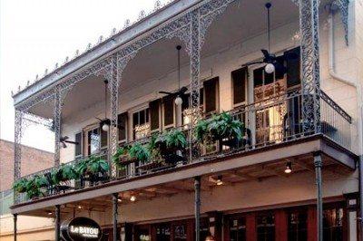 The Grand Absinthe Room balcony, Le Bayou 6