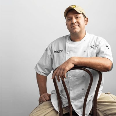 Chef Nathan Richard, Kingfish Chef, New Orleans LA