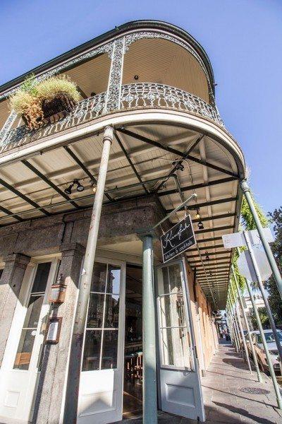 Kingfish Restaurants Balcony and Entrance