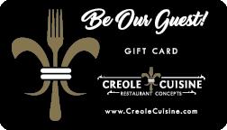 Creole Cuisine Gift Card